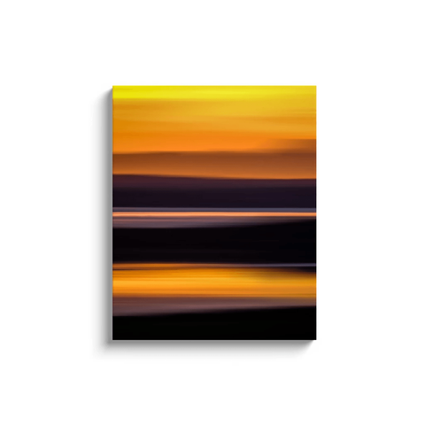 Image of Canvas Wrap - Abstract Irish Sunrise 2 Canvas Wrap Moods of Ireland 24x30 inch