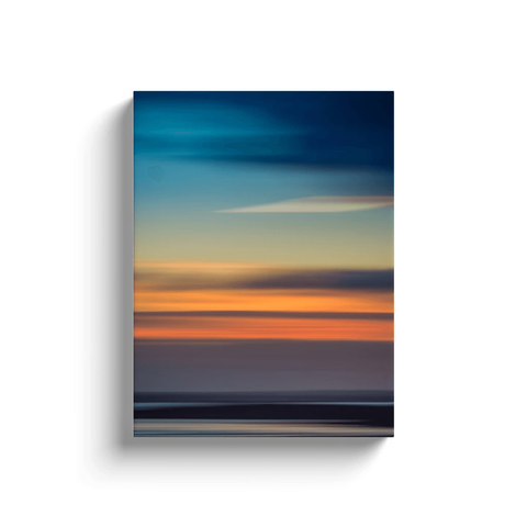Canvas Wrap - Abstract Irish Sunrise 5 Canvas Wrap Moods of Ireland 12x16 inch