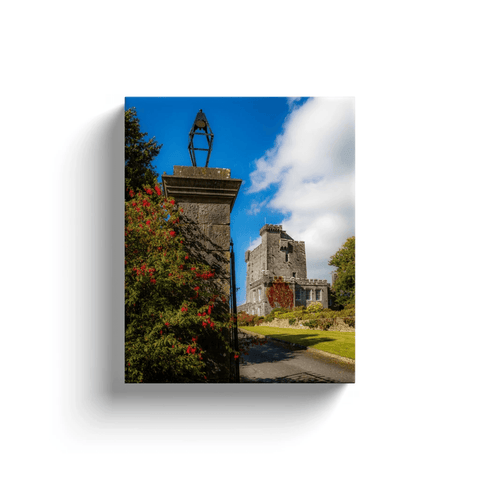 Image of Irish Castle Canvas - Knappogue Castle, County Clare Canvas Wrap Moods of Ireland 8x10 inch