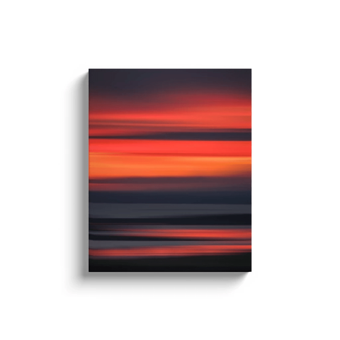 Canvas Wrap - Abstract Irish Sunrise 7 Canvas Wrap Moods of Ireland 16x20 inch