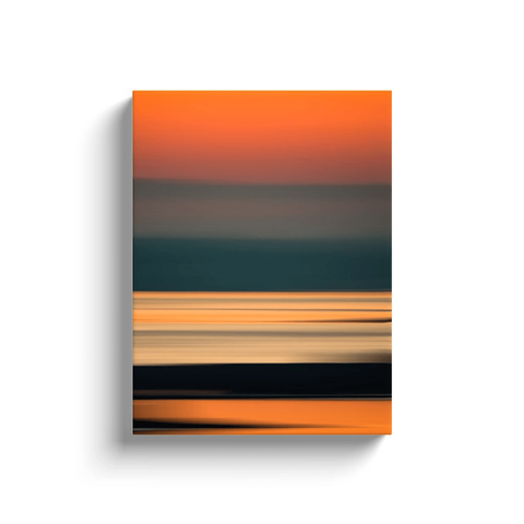 Canvas Wrap - Abstract Irish Sunrise 4 Canvas Wrap Moods of Ireland 12x16 inch