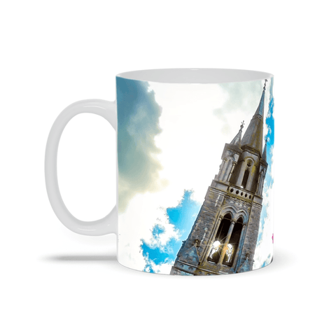 Ceramic Mug - Steeple at Holy Cross Cathedral, Charleville, County Cork - James A. Truett - Moods of Ireland - Irish Art