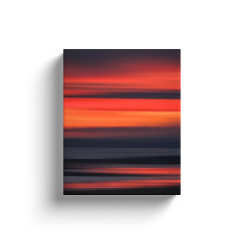 Canvas Wrap - Abstract Irish Sunrise 7 Canvas Wrap Moods of Ireland 8x10 inch