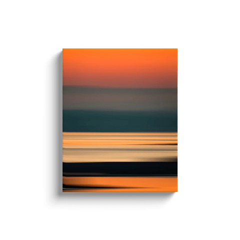 Canvas Wrap - Abstract Irish Sunrise 4 Canvas Wrap Moods of Ireland 16x20 inch