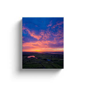 Canvas Wrap - May Sunrise over Ireland's Shannon Estuary, County Clare - James A. Truett - Moods of Ireland - Irish Art