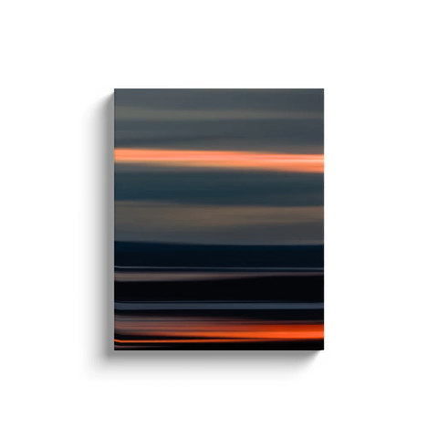 Canvas Wrap - Abstract Irish Sunrise 6 Canvas Wrap Moods of Ireland 16x20 inch