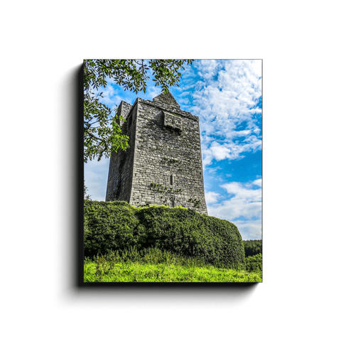 Canvas Wrap - Medieval Ballinalacken Castle in County Clare, Ireland - James A. Truett - Moods of Ireland - Irish Art