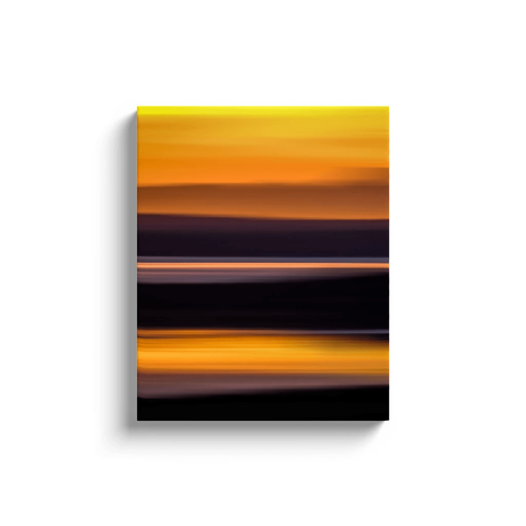 Image of Canvas Wrap - Abstract Irish Sunrise 2 Canvas Wrap Moods of Ireland 16x20 inch
