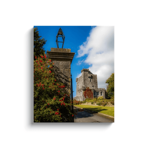 Image of Irish Castle Canvas - Knappogue Castle, County Clare Canvas Wrap Moods of Ireland 20x24 inch