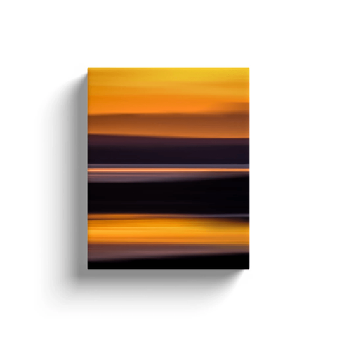 Image of Canvas Wrap - Abstract Irish Sunrise 2 Canvas Wrap Moods of Ireland 8x10 inch