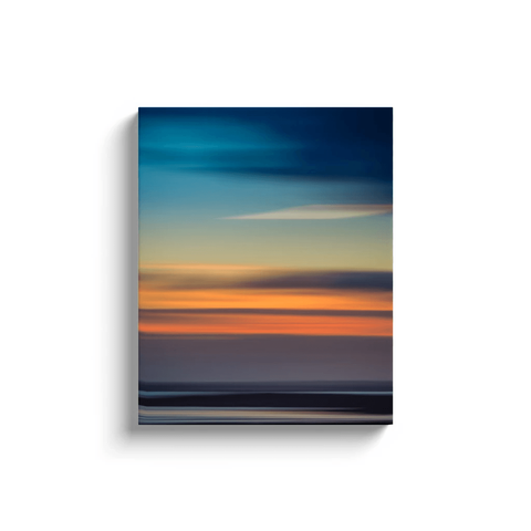 Canvas Wrap - Abstract Irish Sunrise 5 Canvas Wrap Moods of Ireland 16x20 inch