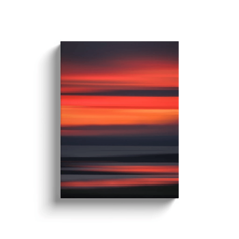 Canvas Wrap - Abstract Irish Sunrise 7 Canvas Wrap Moods of Ireland 12x16 inch