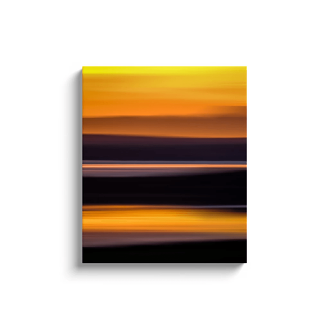 Image of Canvas Wrap - Abstract Irish Sunrise 2 Canvas Wrap Moods of Ireland 20x24 inch