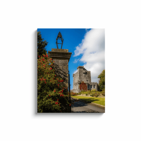 Image of Irish Castle Canvas - Knappogue Castle, County Clare Canvas Wrap Moods of Ireland 24x30 inch