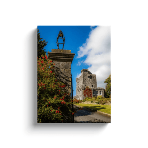 Image of Irish Castle Canvas - Knappogue Castle, County Clare Canvas Wrap Moods of Ireland 12x16 inch