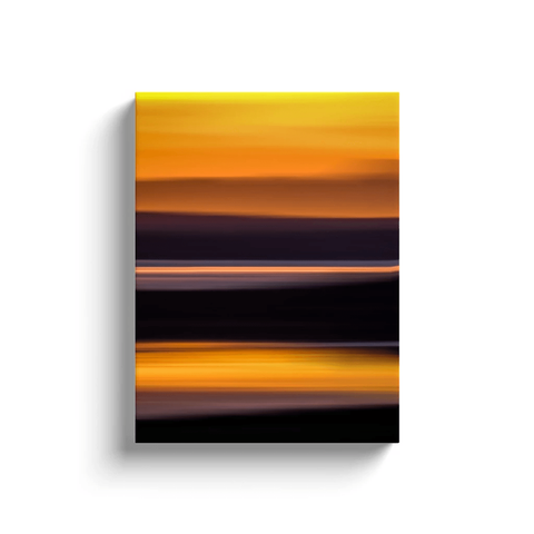 Image of Canvas Wrap - Abstract Irish Sunrise 2 Canvas Wrap Moods of Ireland 12x16 inch