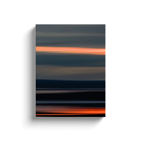 Canvas Wrap - Abstract Irish Sunrise 6 Canvas Wrap Moods of Ireland 12x16 inch