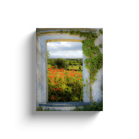 Image of Canvas Wrap - Summer in the County Clare Countryside Canvas Wrap Moods of Ireland 8x10 inch