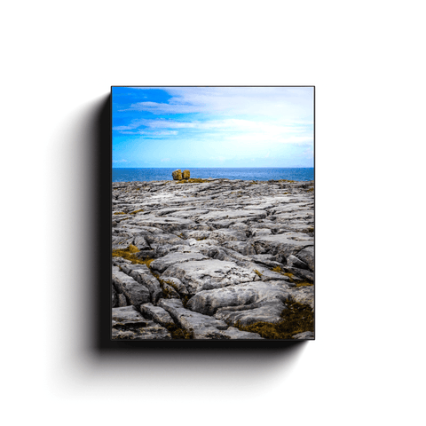 Canvas Wrap - Rocky Burren Coast of County Clare - James A. Truett - Moods of Ireland - Irish Art
