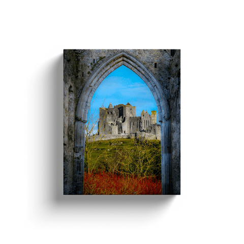 Image of Canvas Wrap - Ireland's Rock of Cashel National Monument, County Tipperary Canvas Wrap Moods of Ireland 8x10 inch
