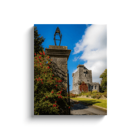 Image of Irish Castle Canvas - Knappogue Castle, County Clare Canvas Wrap Moods of Ireland 16x20 inch