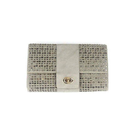 MELANIE Melanie Satin Clutch Bag