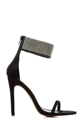 Carmel diamante band ankle strap sandal