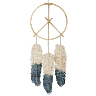 Dreamcatcher Peace Feather