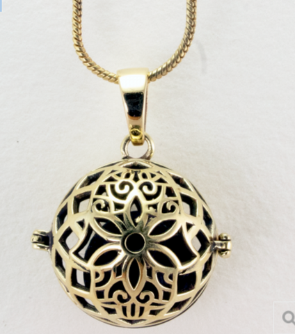 Inner Flower Diffuser Necklace