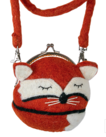 Sleepy Fox Clutch