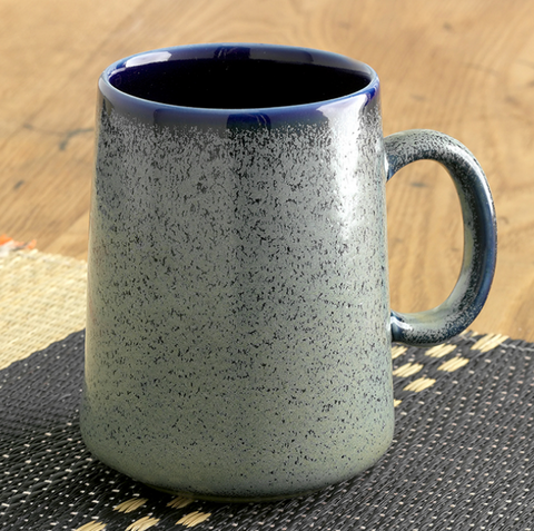 Tall Farmhouse Mug-Speckled Sage