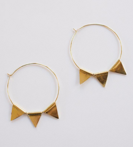 Abaco Hoop Earrings