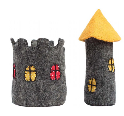 Small Yellow Roof Castle