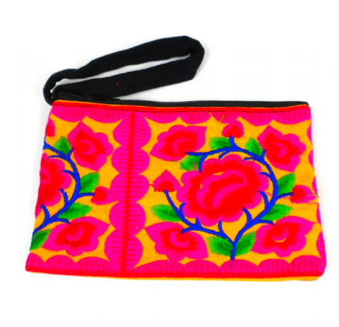 Hmong Emroidered Coin Purse
