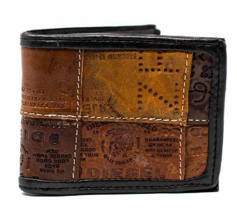 Leather Patches Wallet