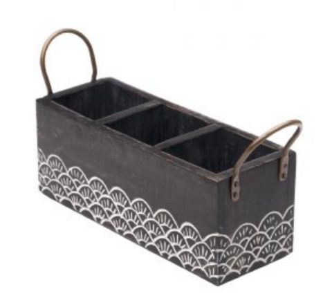 Wood Vasant Flatware Caddy