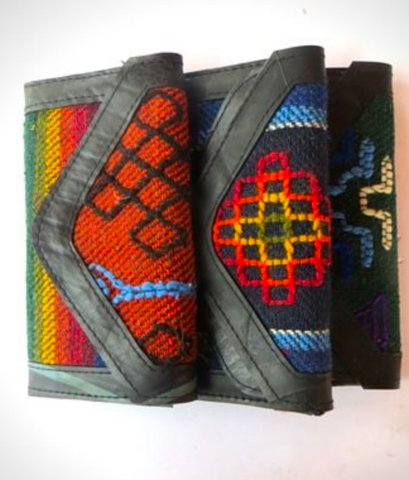 Ladies Wool & Tire Hand Wallet