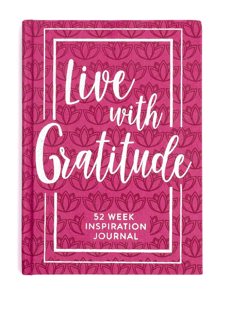 Live With Gratitude Inspirational Journal
