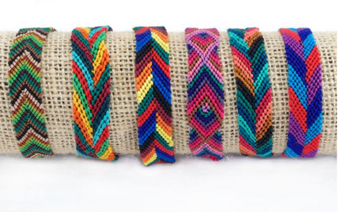 Silk Friendship Bracelet