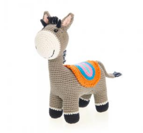 Donkey Rattle Toy