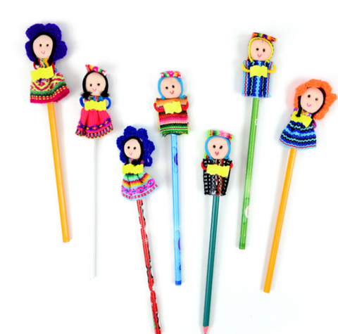 Whimsy Pencil-Doll