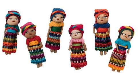 Guatemalan Worry Dolls MED Set