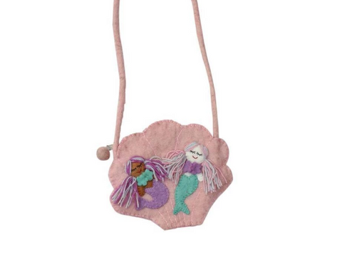 Mermaid Felt Bag
