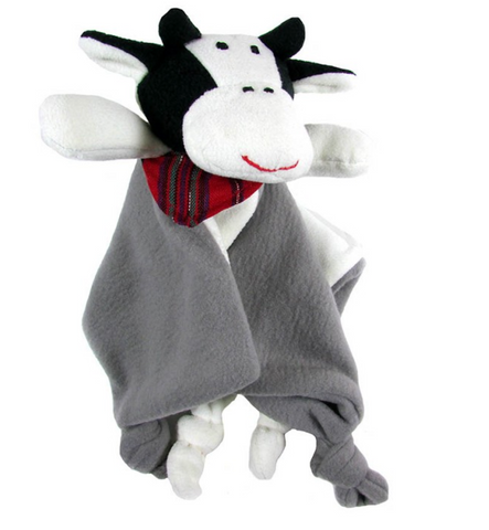 Cow Snuggle Blanket