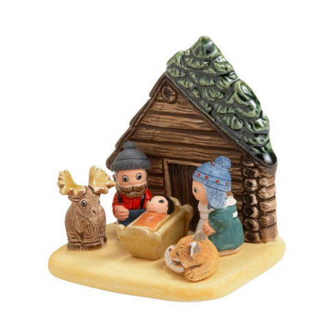 Log Cabin Nativity