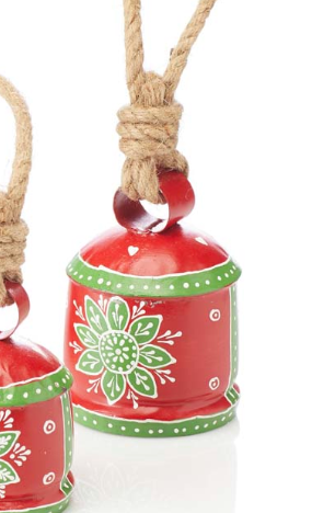 Recycled Holiday Bell-Medium