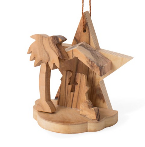Star & Stable Nativity Ornament