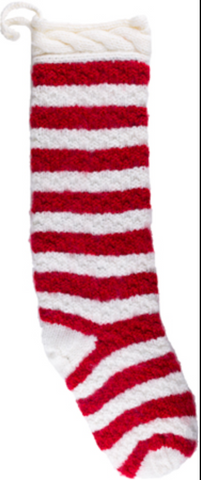 Long Knit Christmas Stockings
