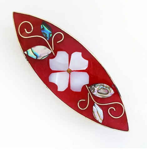 Inlaid Barrette
