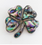Abalone & Mother of Pearl Pin Brooch